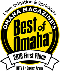 Best of Omaha 2018 First Place for Lawn Irrigation and Sprinklers - Logo